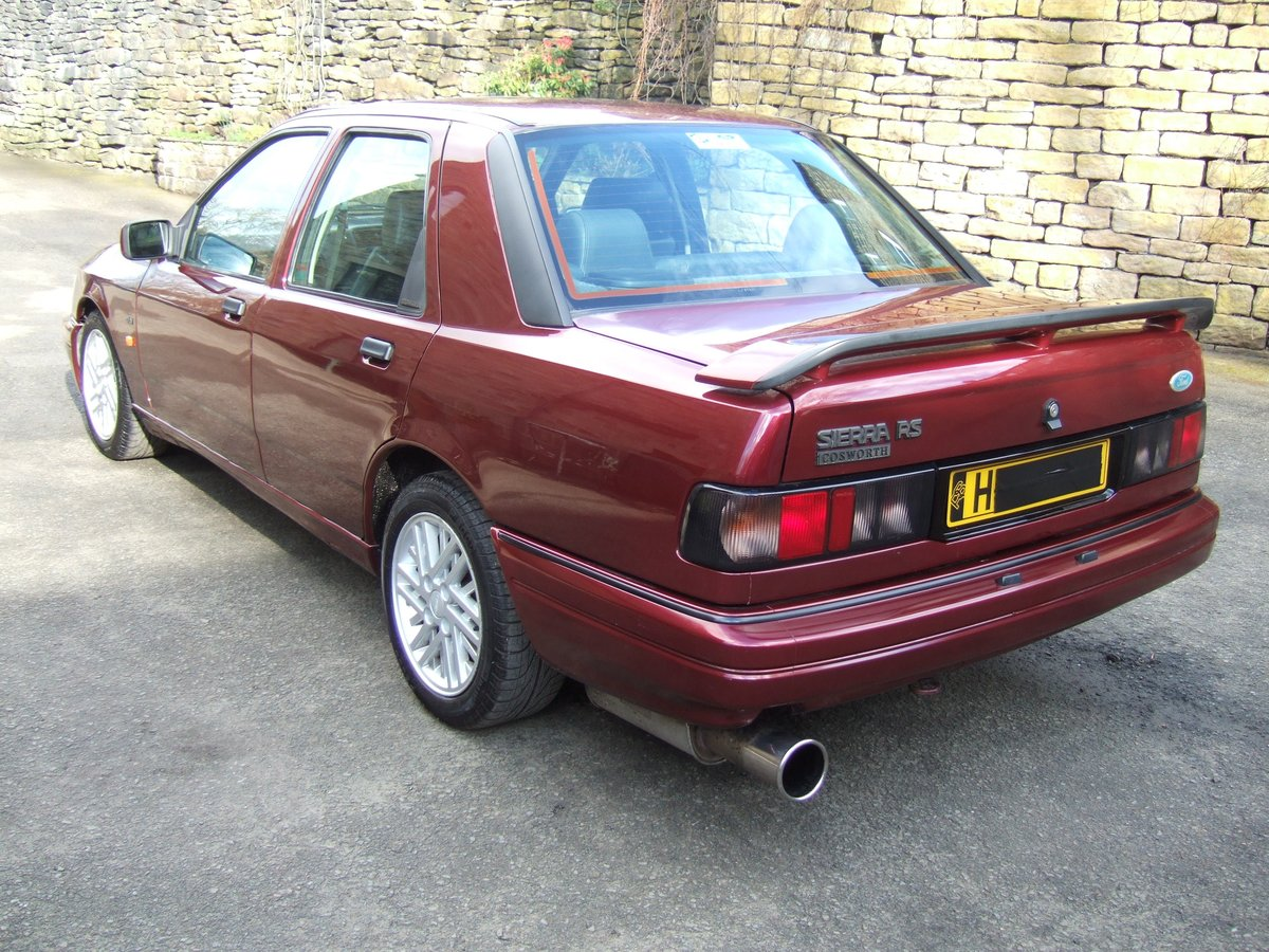 1991 H reg ford sierra sapphire rs cosworth 4x4 4dr SOLD (picture 4 of 6)