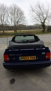 1990 Ford escort XR3i limited edition se500 For Sale