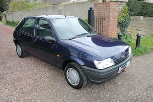 1995 A Superb Fiesta MkIII LX, Very Low Miles & 13 Years Storage SOLD