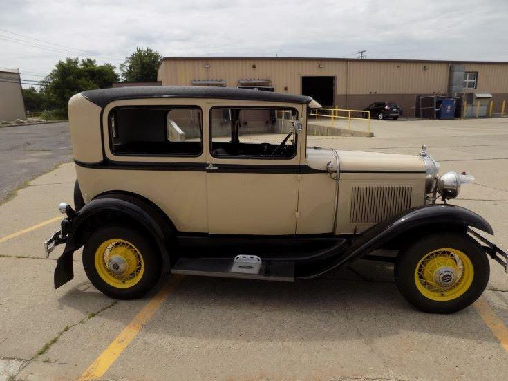 1931 Ford Model Tudor Sedan (Novi, MI) $15,900 obo For Sale (picture 2 of 6)