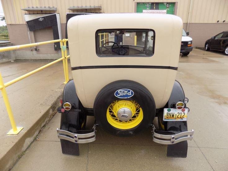 1931 Ford Model Tudor Sedan (Novi, MI) $15,900 obo For Sale (picture 4 of 6)