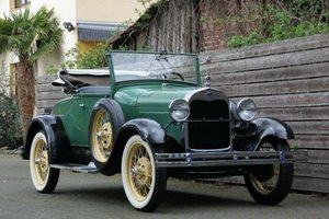 Ford Model A Roadster, 1929 SOLD