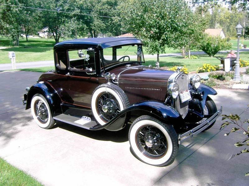 1930 Ford Model A Deluxe Coupe (East Canton, OH) $23,500 obo For Sale (picture 1 of 6)