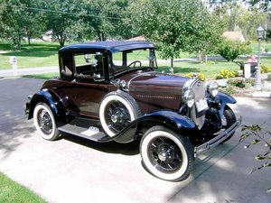 1930 Ford Model A Deluxe Coupe (East Canton, OH) $23,500 obo For Sale