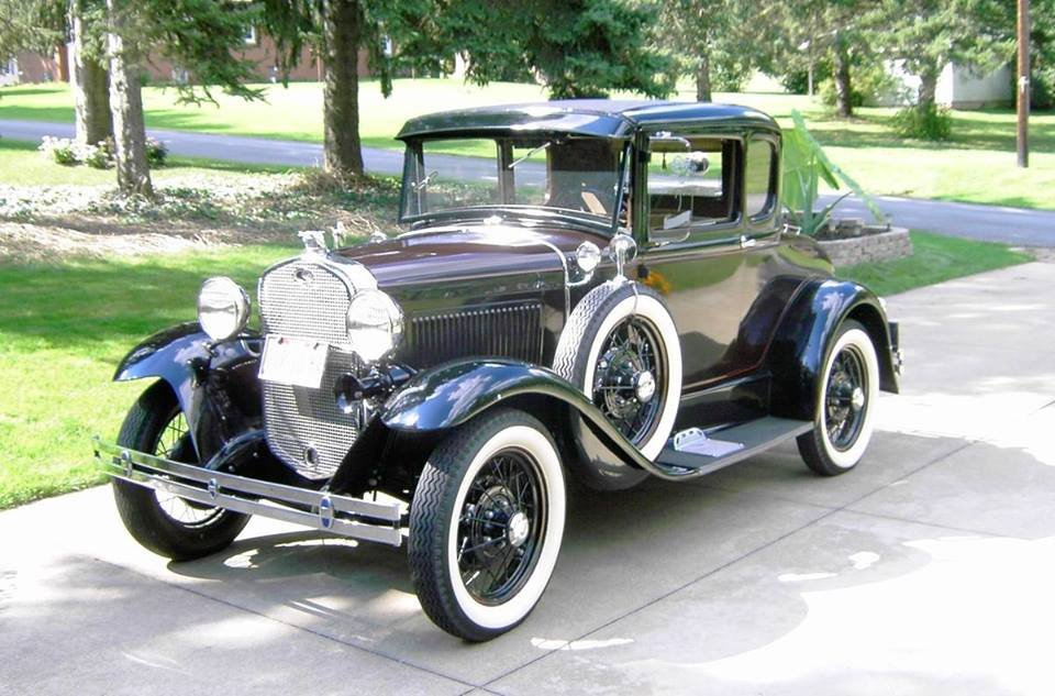 1930 Ford Model A Deluxe Coupe (East Canton, OH) $23,500 obo For Sale (picture 2 of 6)
