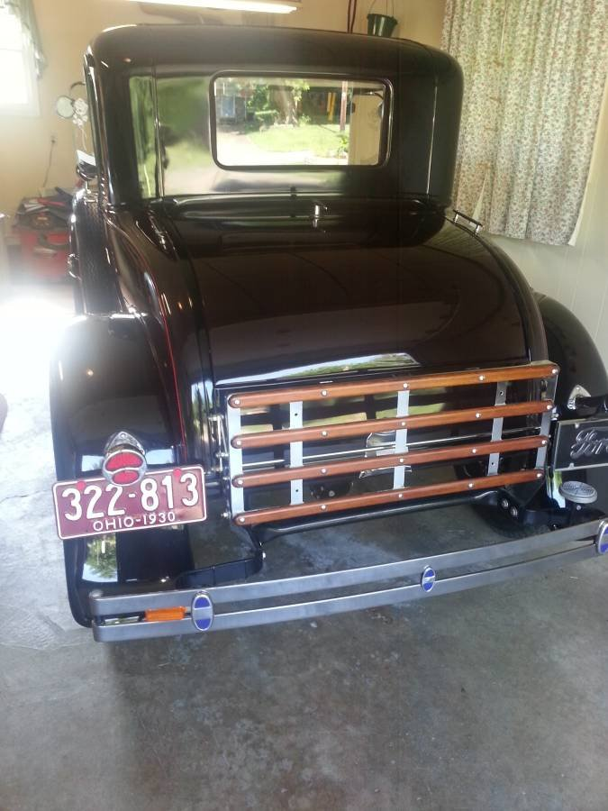 1930 Ford Model A Deluxe Coupe (East Canton, OH) $23,500 obo For Sale (picture 3 of 6)