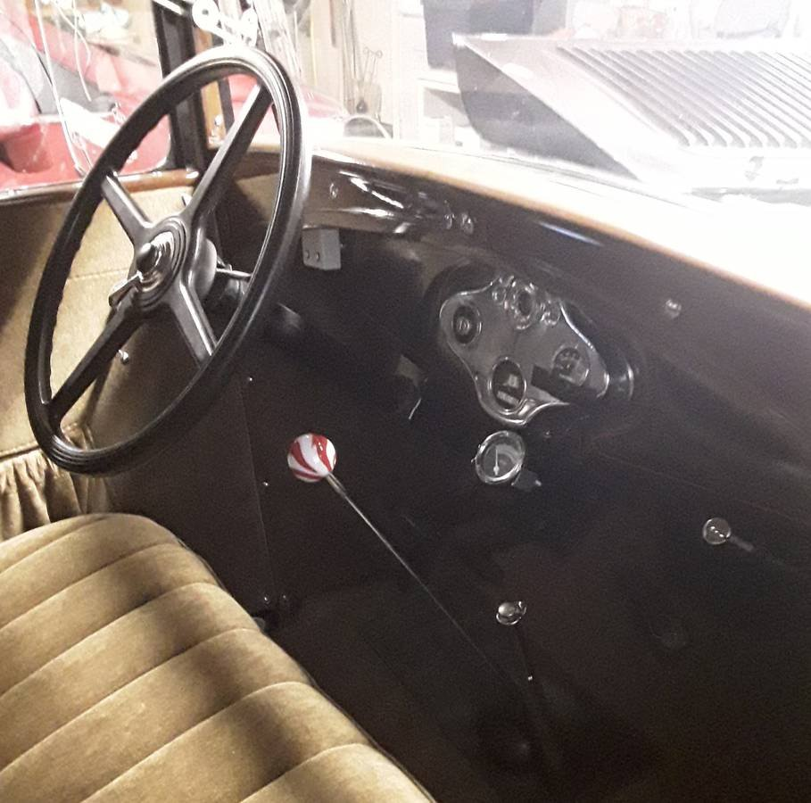 1930 Ford Model A Deluxe Coupe (East Canton, OH) $23,500 obo For Sale (picture 5 of 6)