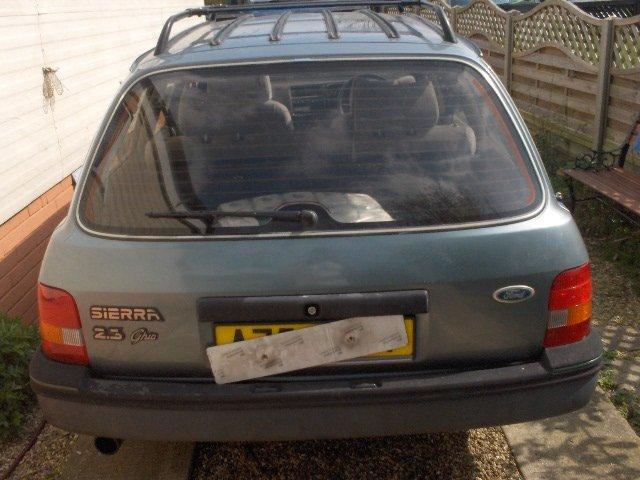 1984 ford sierra mk1 ghia long mot For Sale (picture 4 of 6)