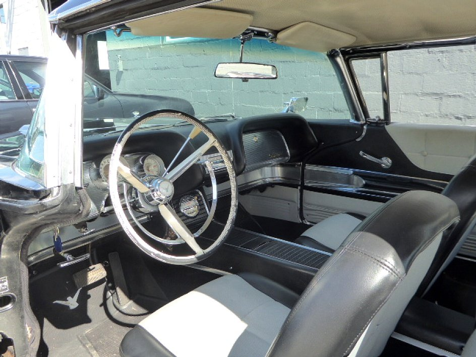1960 Ford ThunderBird HardTop = clean Black 79k miles $14.5k For Sale (picture 4 of 6)