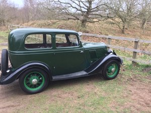 1934 Ford Model Y two door sedan For Sale