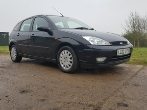 2002 Ford Focus 2.0 Ghia P/X to clear For Sale