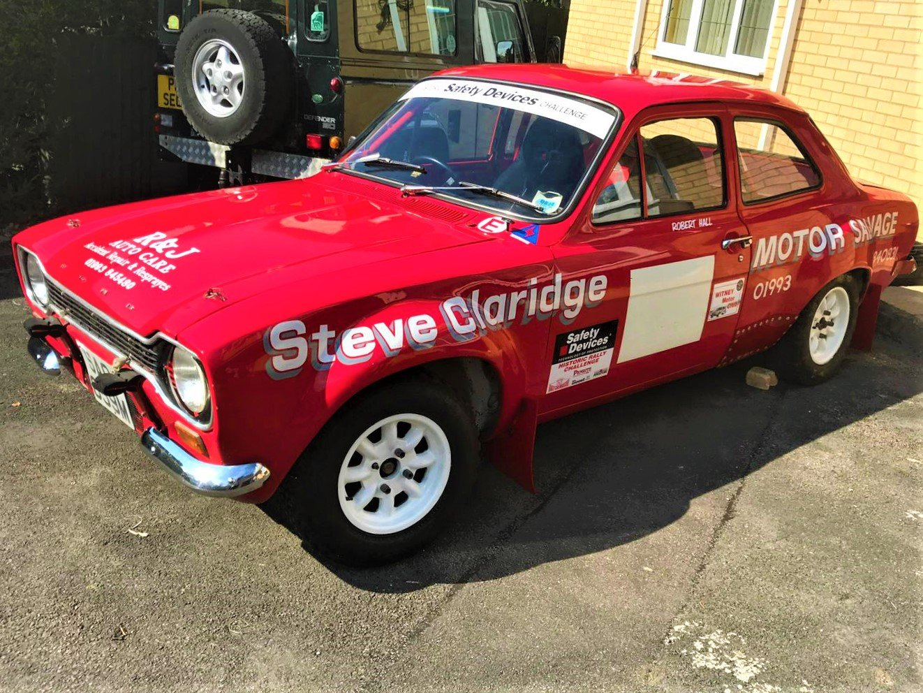 1974 *Ford Escort Mexico MK1 Rally Car Sale July 20th* For Sale by Auction (picture 1 of 3)