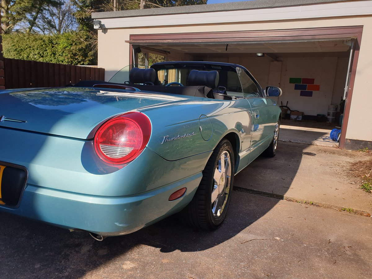 Ford Thunderbird 4L V8 Auto 2001 For Sale (picture 3 of 6)
