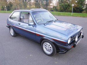 **APRIL AUCTION**1982 Ford Fiesta XR2 For Sale by Auction