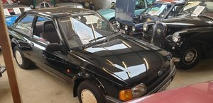 **APRIL AUCTION**1990 Ford Escort Bonus SOLD by Auction