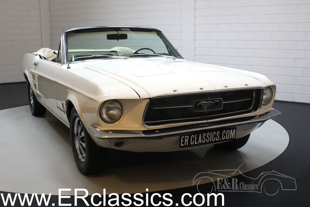 Ford mustang v8 cabriolet 1967 powertop for sale picture 1 of 6