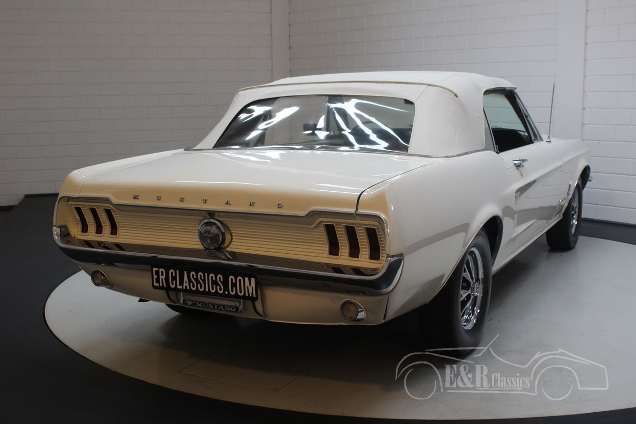 Ford mustang v8 cabriolet 1967 powertop for sale picture 5 of 6