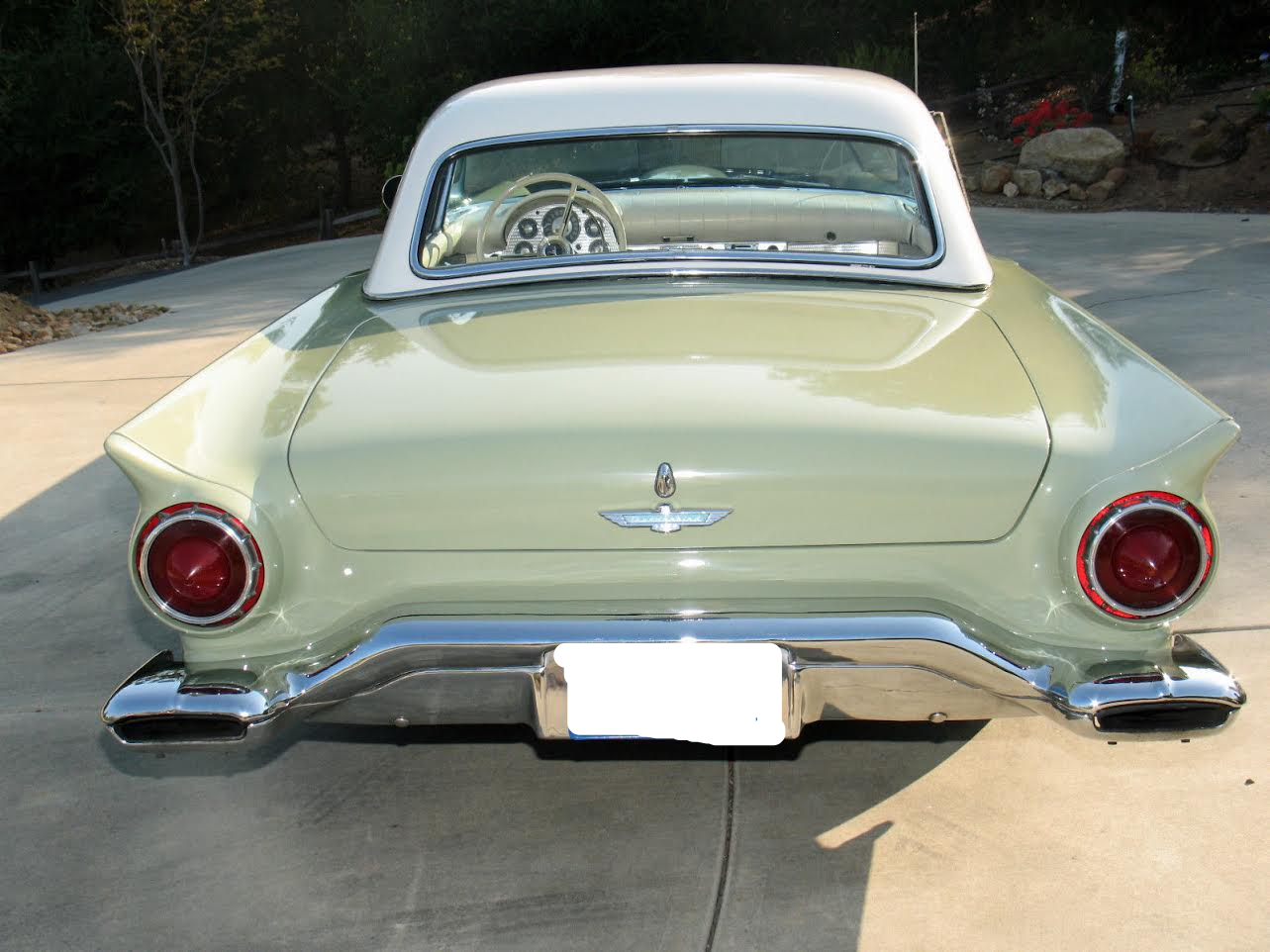 1957 Ford Tbird Convertible with Assy Hardtop For Sale (picture 4 of 6)