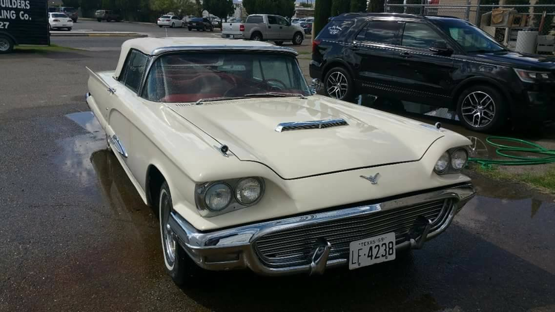 1959 Ford Thunderbird Convertible--------Restored For Sale (picture 2 of 6)