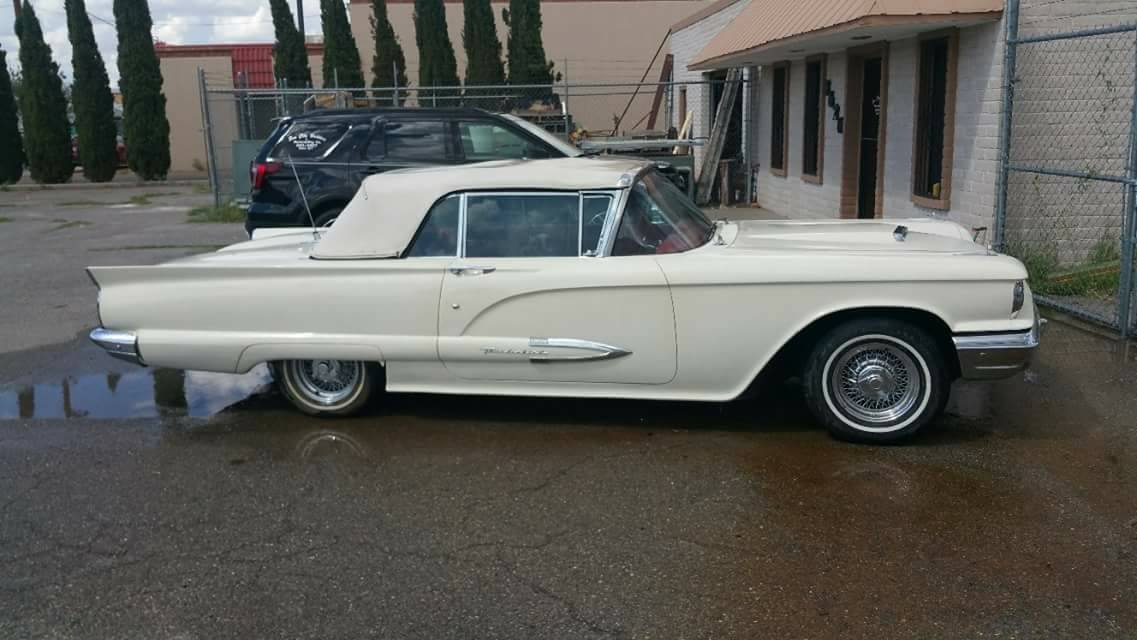 1959 Ford Thunderbird Convertible--------Restored For Sale (picture 3 of 6)