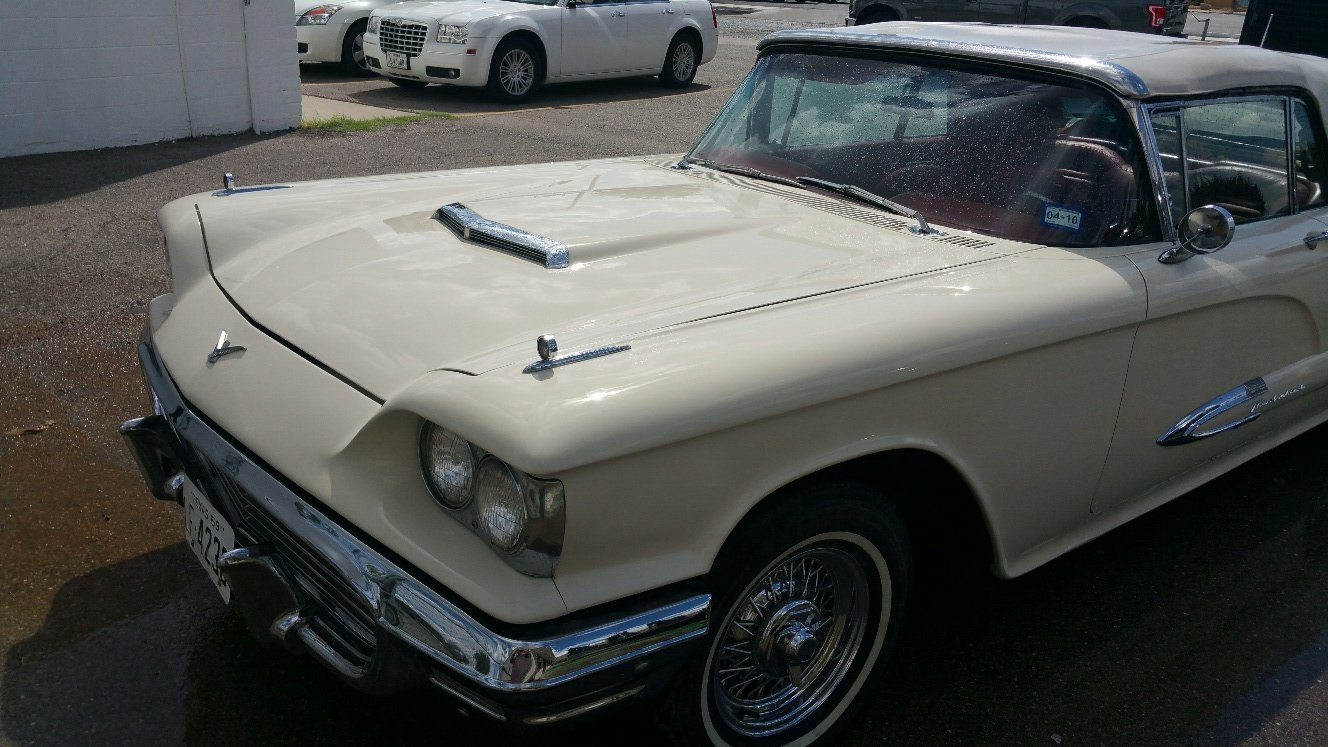 1959 Ford Thunderbird Convertible--------Restored For Sale (picture 5 of 6)