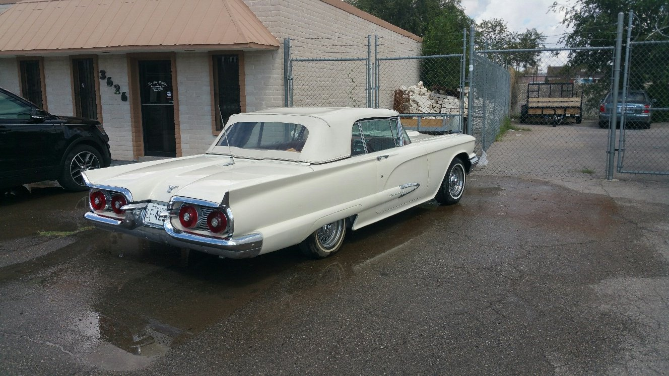 1959 Ford Thunderbird Convertible--------Restored For Sale (picture 6 of 6)
