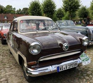 1955  FORD TAUNUS 15M; Mille Miglia, FIVA ID Card