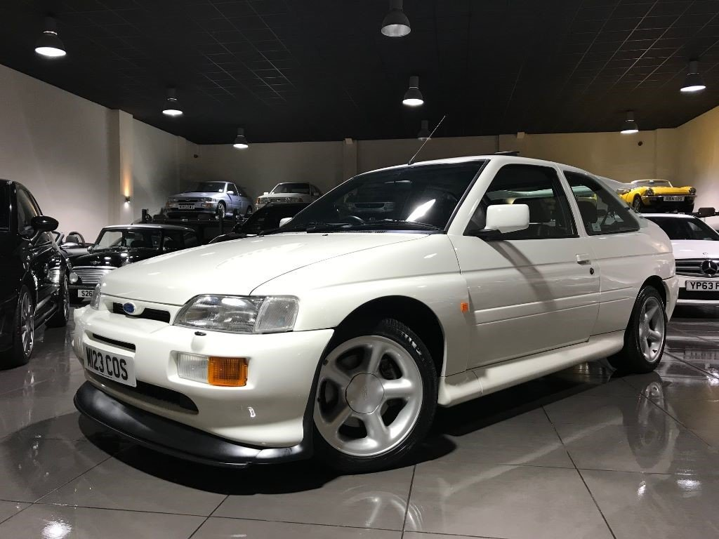 1995 FORD ESCORT RS COSWORTH LUX ONLY 19,054 MILES DIAMOND WHITE For Sale (picture 1 of 6)