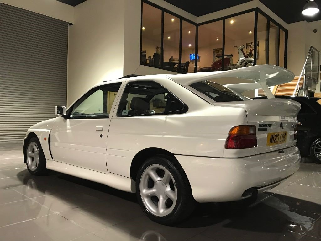 1995 FORD ESCORT RS COSWORTH LUX ONLY 19,054 MILES DIAMOND WHITE For Sale (picture 2 of 6)