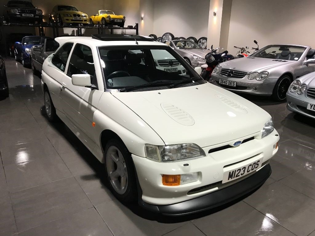 1995 FORD ESCORT RS COSWORTH LUX ONLY 19,054 MILES DIAMOND WHITE For Sale (picture 3 of 6)
