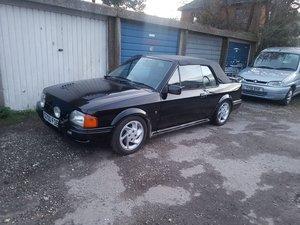 1989 Escort XR3i Cabriolet For Sale