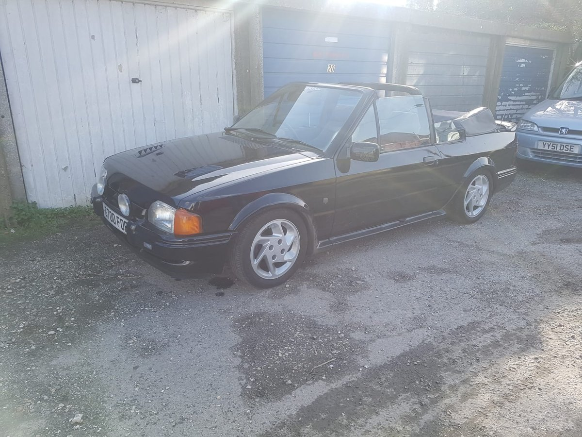 1989 Escort XR3i Cabriolet For Sale (picture 3 of 6)