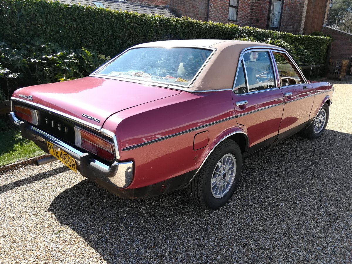1976 Ford Granada Mk1 3000 GL - Mot April 2020- Original Car -  SOLD (picture 2 of 6)