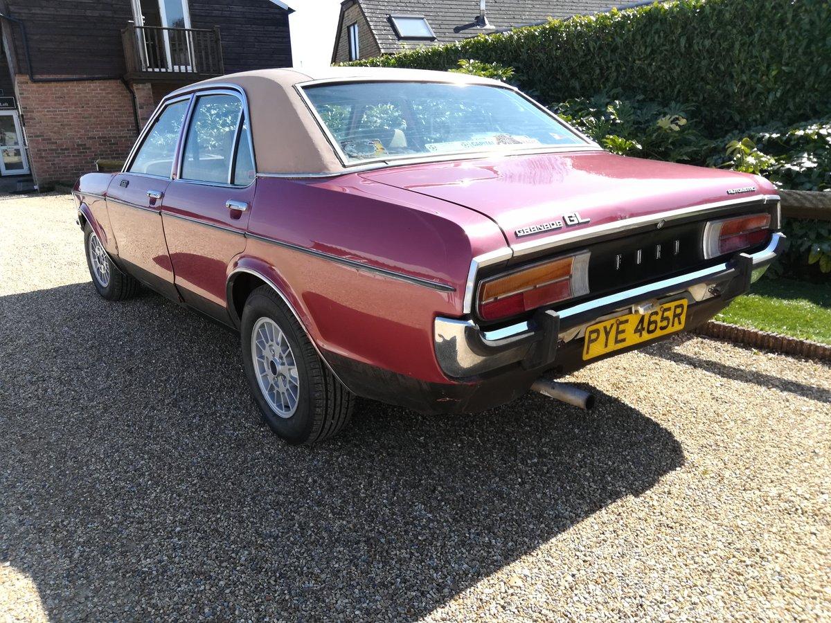 1976 Ford Granada Mk1 3000 GL - Mot April 2020- Original Car -  SOLD (picture 4 of 6)