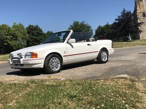 1989 Ford Escort XR3i Convertible - Immaculate 80s icon. SOLD