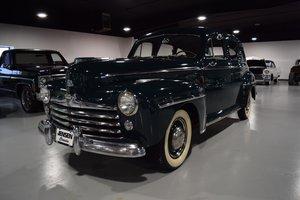 1947 Ford Super Deluxe four-door sedan