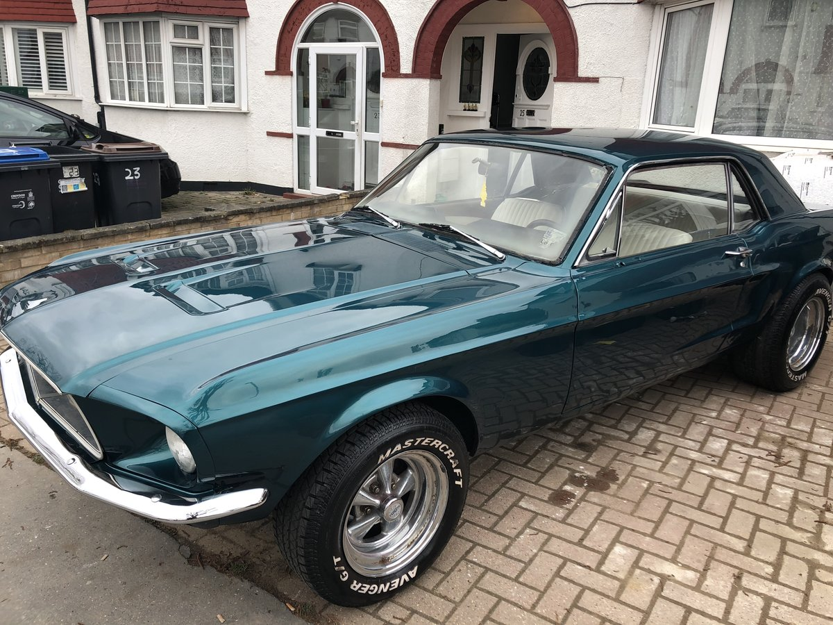 1968 Ford Mustang V8 For Sale (picture 1 of 4)