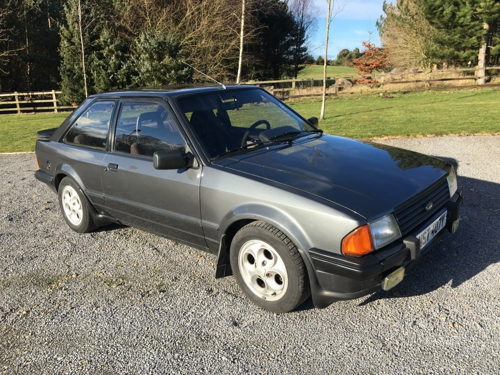 1983 FORD ESCORT XR3i LHD UK REG For Sale (picture 1 of 6)