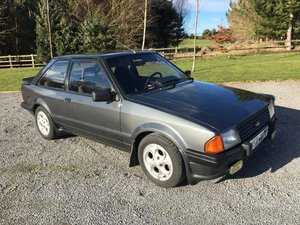 1983 FORD ESCORT XR3i LHD UK REG For Sale