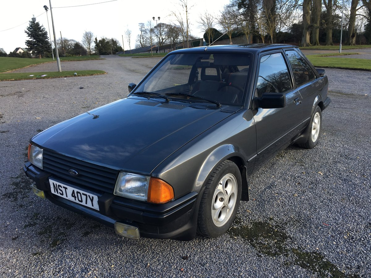 1983 FORD ESCORT XR3i LHD UK REG For Sale (picture 3 of 6)