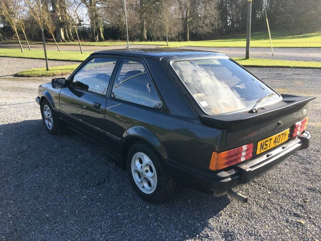 1983 FORD ESCORT XR3i LHD UK REG For Sale (picture 4 of 6)