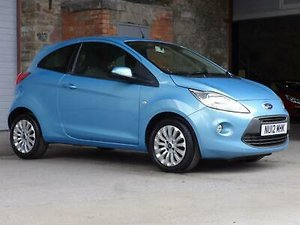 2012 Ford KA 1.25 Zetec 3DR For Sale