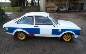 1976 Escort Mk2 1600 xflow rally car For Sale