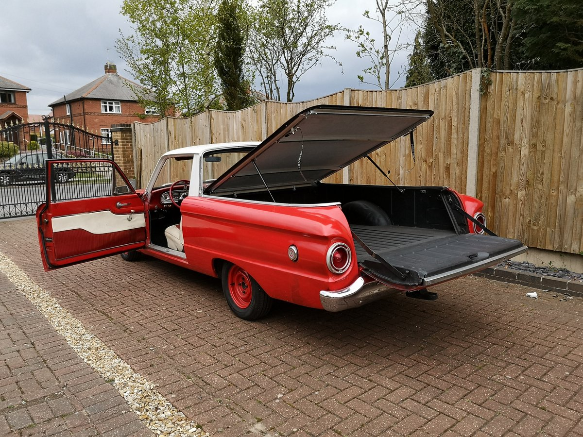 1961 Ford Ranchero pick up (Falcon variant) For Sale (picture 3 of 6)