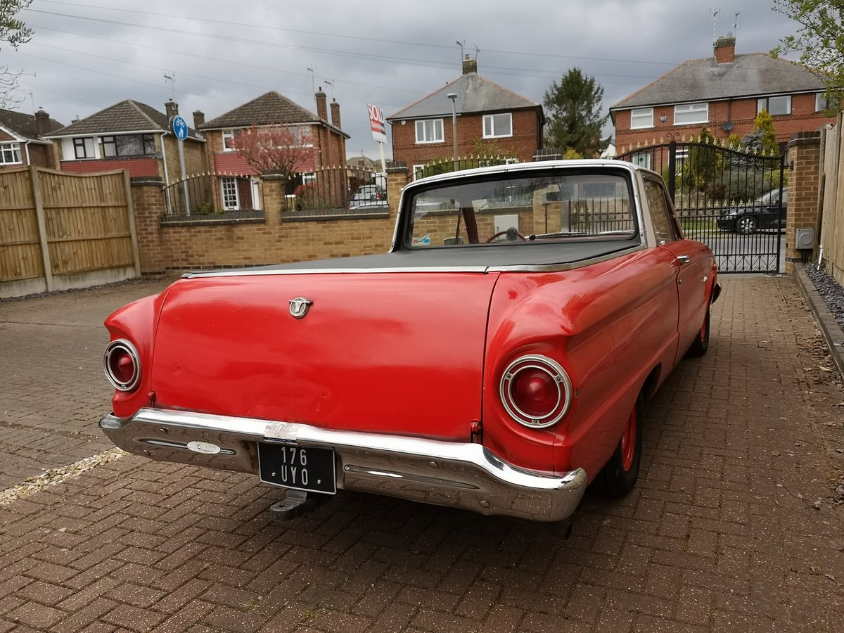 1961 Ford Ranchero pick up (Falcon variant) For Sale (picture 5 of 6)