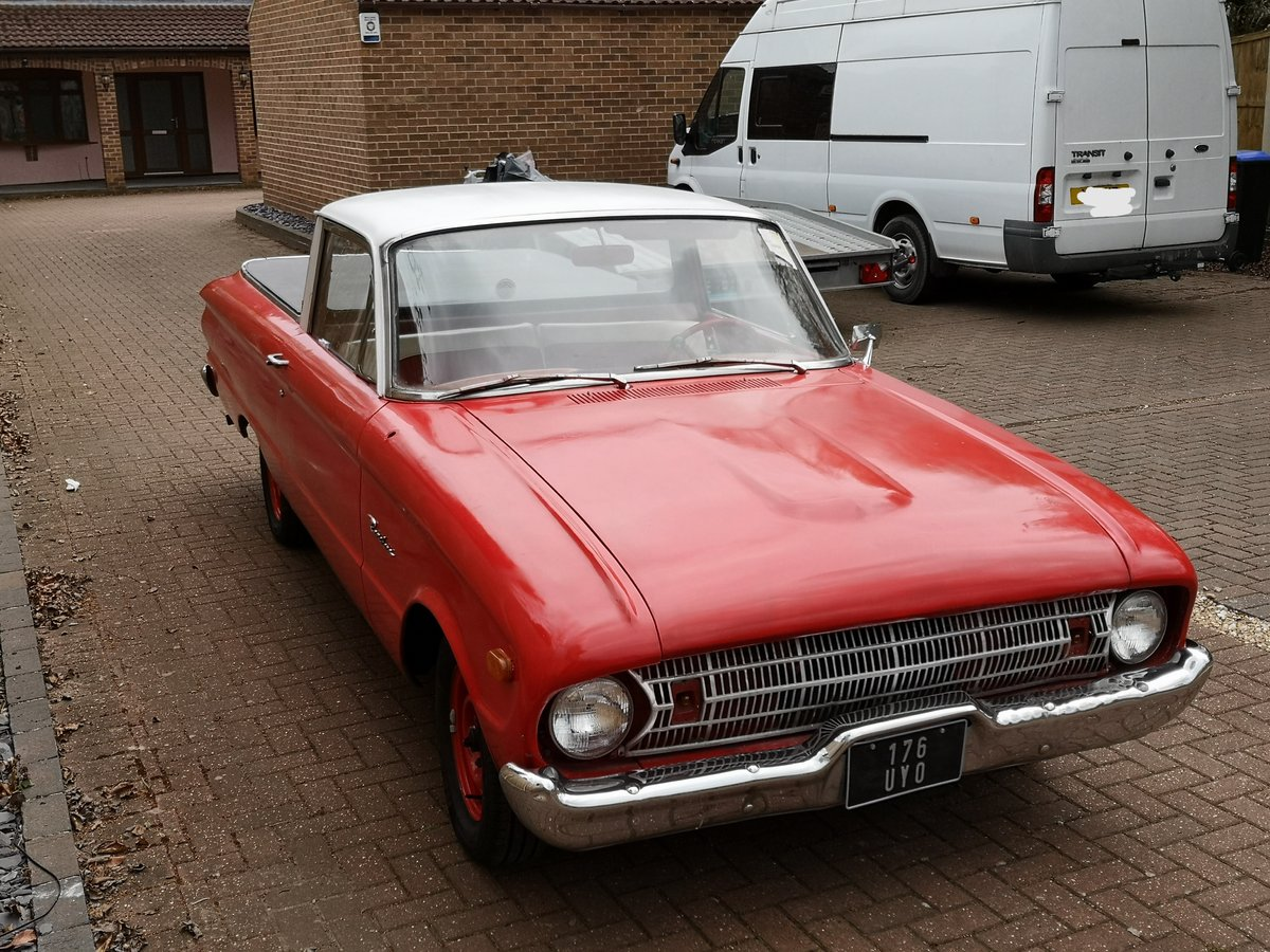1961 Ford Ranchero pick up (Falcon variant) For Sale (picture 1 of 6)