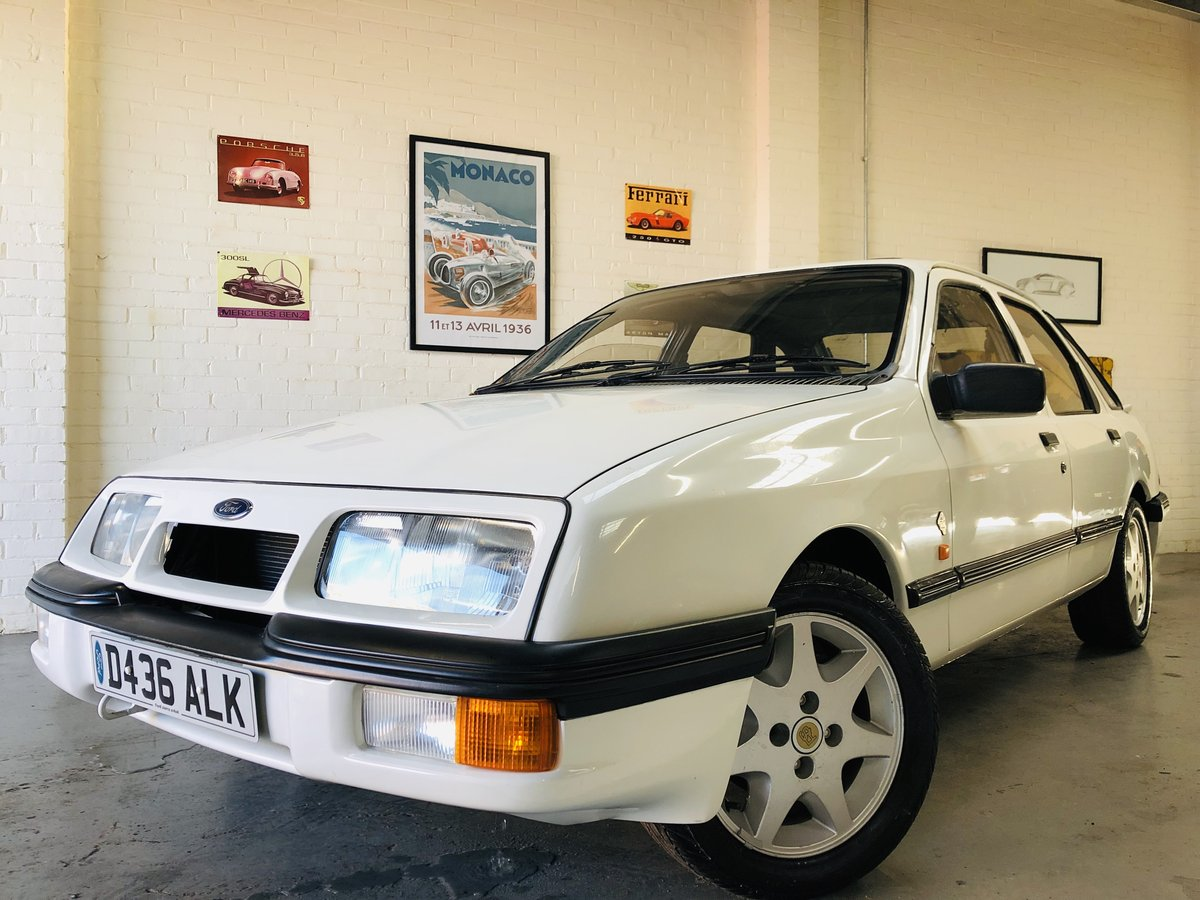 1986 FORD SIERRA XR4X4 MK1 - VERY RARE CAR, SUPER VALUE For Sale (picture 1 of 4)