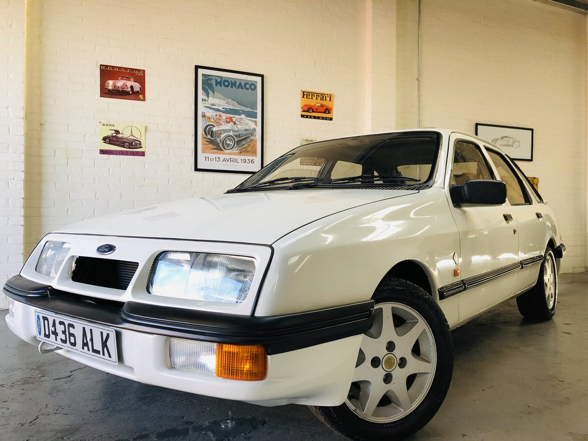 1986 FORD SIERRA XR4X4 MK1 - VERY RARE CAR, SUPER VALUE For Sale (picture 3 of 4)