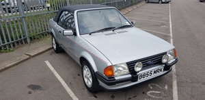 1984 ***Ford Escort Cabriolet July 20th*** For Sale by Auction