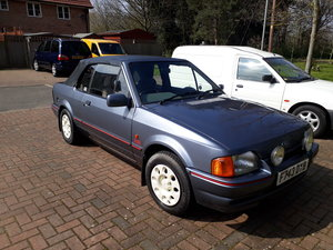 1988 Ford escort xr3i cabriolet  For Sale